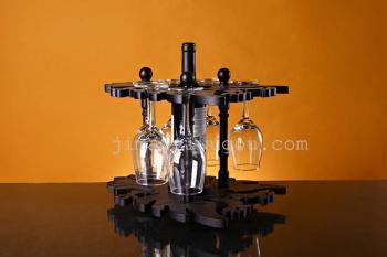 酒店创意葡萄酒架欧式红酒倒挂杯吊架