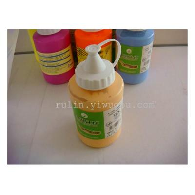 250 ml of beak acrylic painting pigments