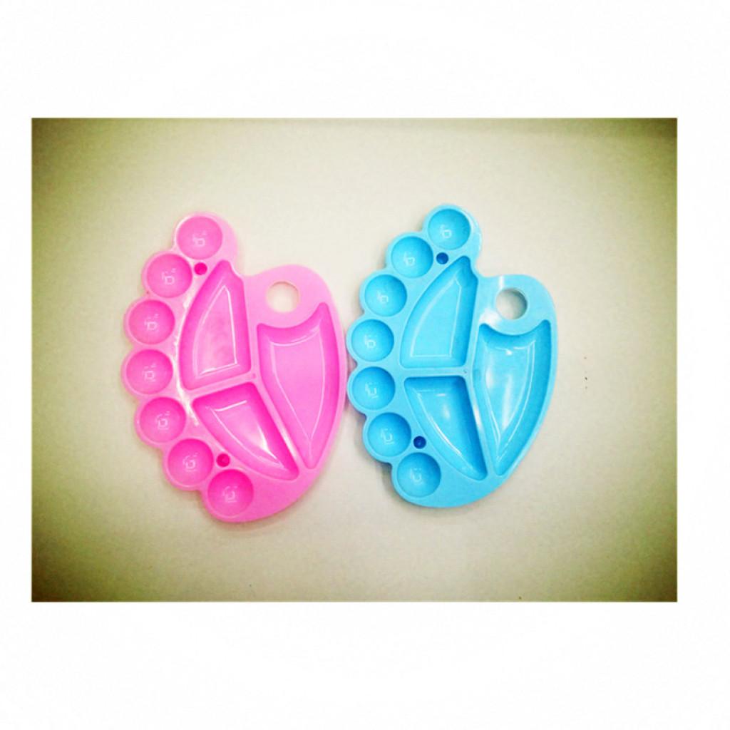 tavolozza di alta qualità plastica tavolozze piccolo piede polvere tavolozza pan tavolozza colore un vassoio