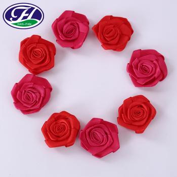 Hand sewn rose ornament decorative DIY accessories