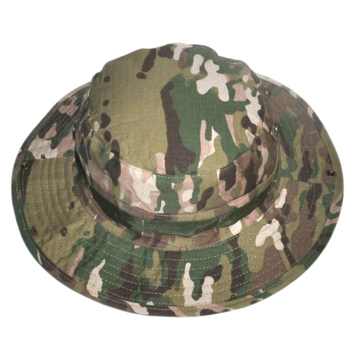 Sled dog outdoor camouflage round hats summer sun hat outdoor mountaineering trip