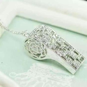 Copper jewelry - whistle