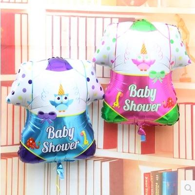 Baby baby clothes made party anniversary celebration decorative aluminum balloon