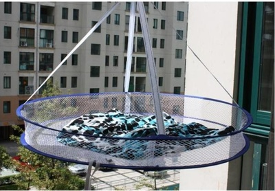 Creative home single layer drying clothes basket