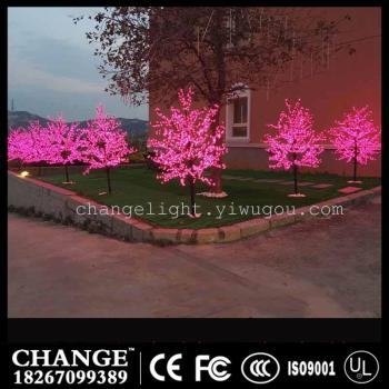 The simulation tree lighting scheme for street lighting lighting dream holiday festival decoration