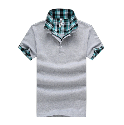 Men's short-sleeved polo shirt fake two Men's T-shirt Manufacturer trend cotton Men's T-shirts