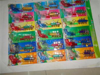 New suction card electronic toys five laser plus transparent projection gun