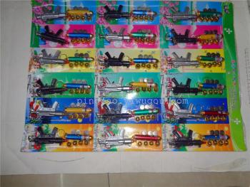 New suction card electronic toys five laser plus rifles