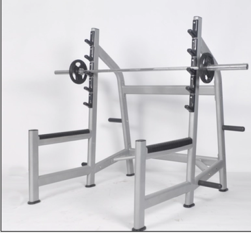 Professional safety squat rack weightlifting bed bench frame Smith machine barbell fitness equipment commercial gym