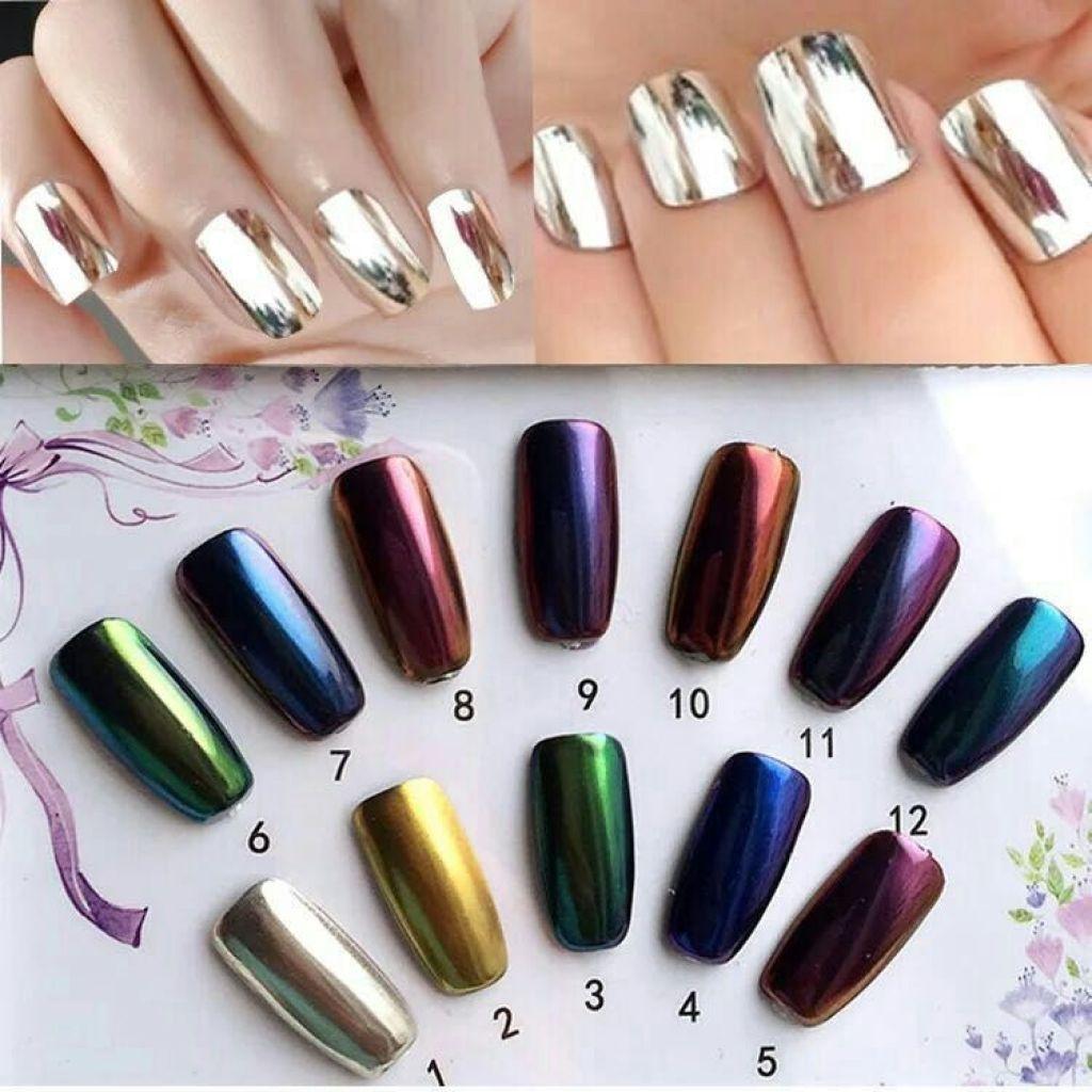 Supply Europe market high quality Shiny chrome nail mirror powder ...