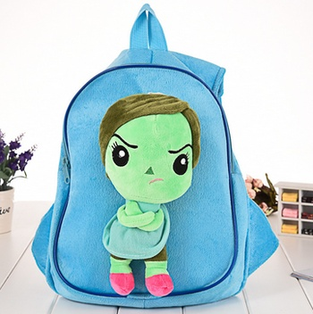Foreign trade authentic mind big fight plush toys bag kindergarten backpack children 's toy bag