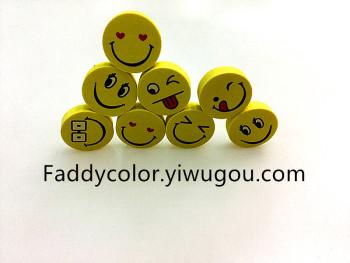 儿童可爱橡皮 擦可爱笑脸 教师鼓励橡皮擦 学生卡通创意橡皮章