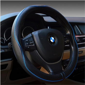The car skid leather covers the steering wheel sleeve of the sport version 0330