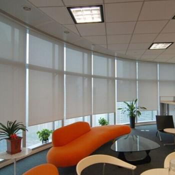 Sun curtain fabric rolling shutter flame retardant cloth environmental protection non pollution fabrics