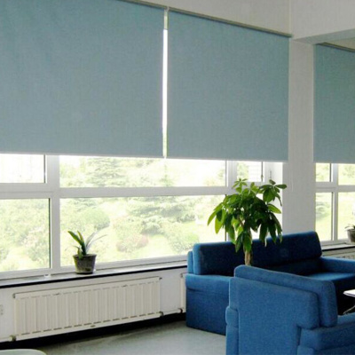 Sun curtain fabric rolling shutter flame retardant cloth environmental protection non pollution fabrics