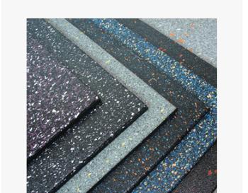 橡胶地垫健身房垫子彩色运动地胶 塑胶地板 悬浮地板