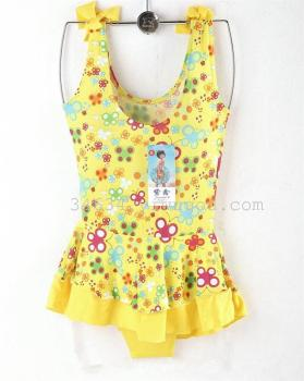 Hot explosion models new small Suihua children swimsuit Siamese Children swimsuit swimsuit girls wholesale
