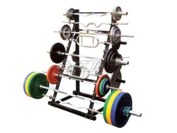 HJ-A196   A-Frame Barbell Rack