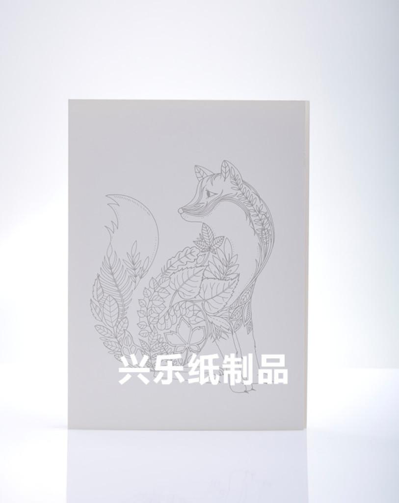 衍纸线稿a4卡通动物植物背景diy助手硬卡纸衍纸模板