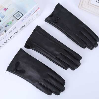 Imitation deerskin gloves warm gloves
