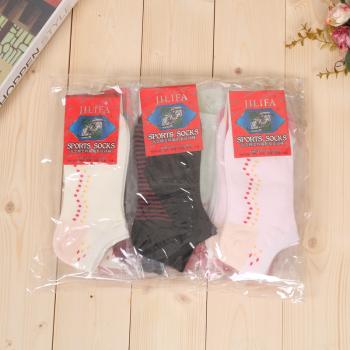 女士高含棉會呼吸柔軟襪子 多色女襪