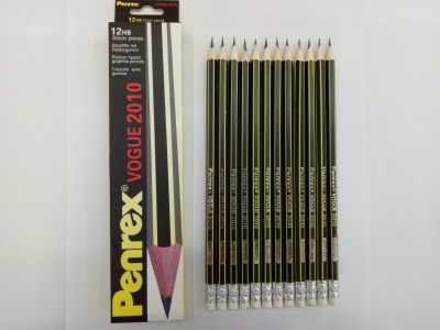 Penrex 12 HB with leather head pencil