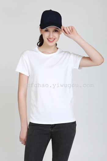 High quality modal cotton t-shirt tee class service sportswear advertising t-shirt t-shirt women