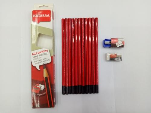 NATARAJ 12 0026HB pencil with six corners