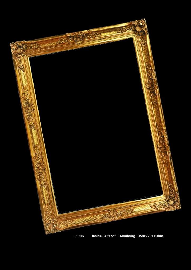 欧式画框 经典装饰画 复古艺术框 大油画框120*180