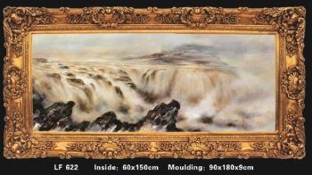 直销 欧式画框 经典装饰画 复古艺术框60*150 油画框