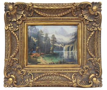 直销小型欧式画框 经典装饰画 复古艺术框 油画8*10框