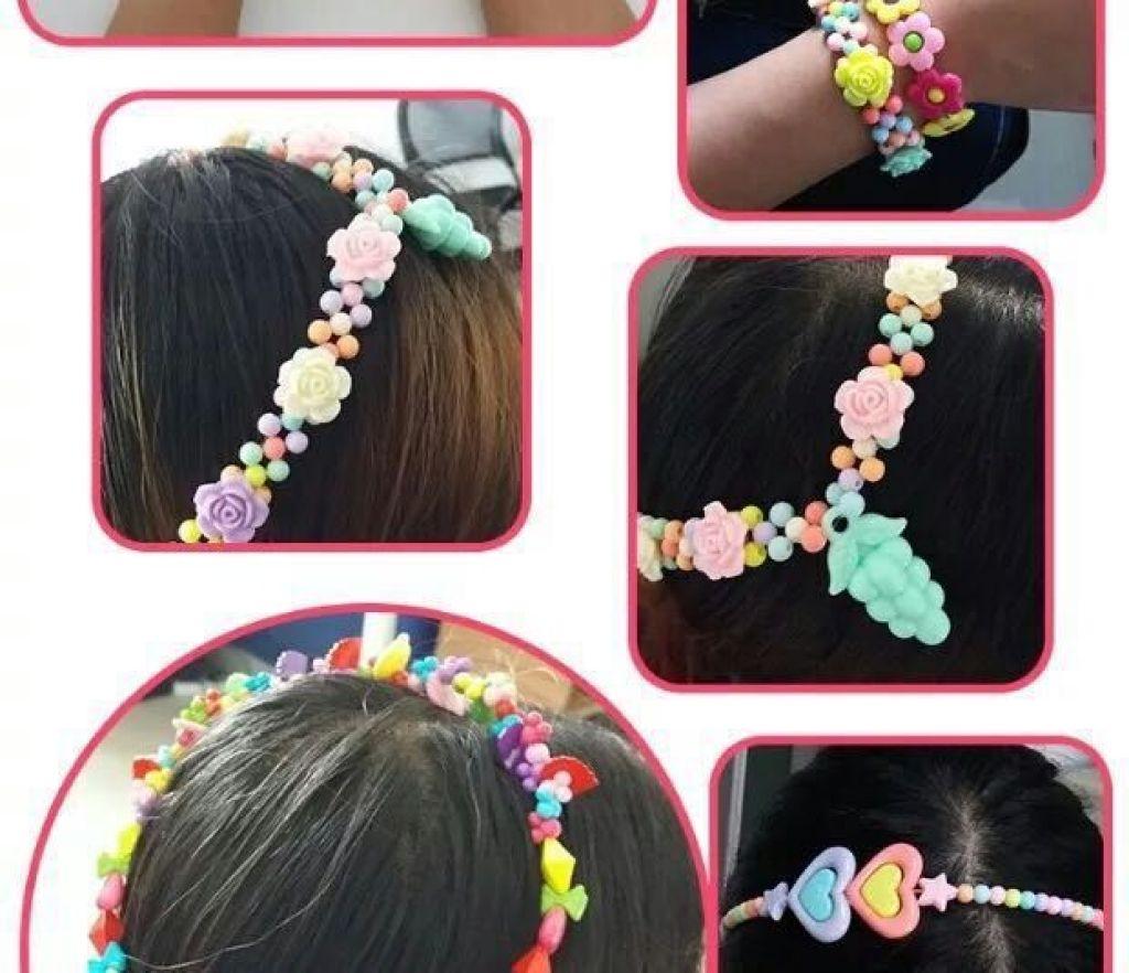 新款儿童手工串珠 颜色款式多 儿童串珠