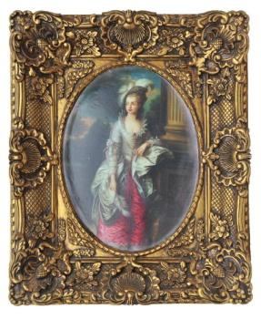直供 小型欧式画框 经典装饰画 复古艺术框 迷你框30*40