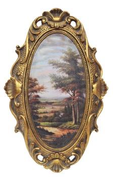 厂家直销 欧式画框 墙饰挂画 经典装饰画 复古艺术画