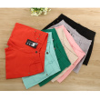 MS candy color rendering shorts elastic thin body burr hot pants Hugh hip pants