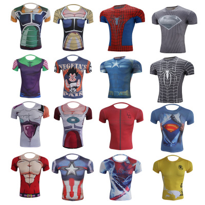 Customized men's t-shirts Casual sports advertising shirts culture shirts script hot screen