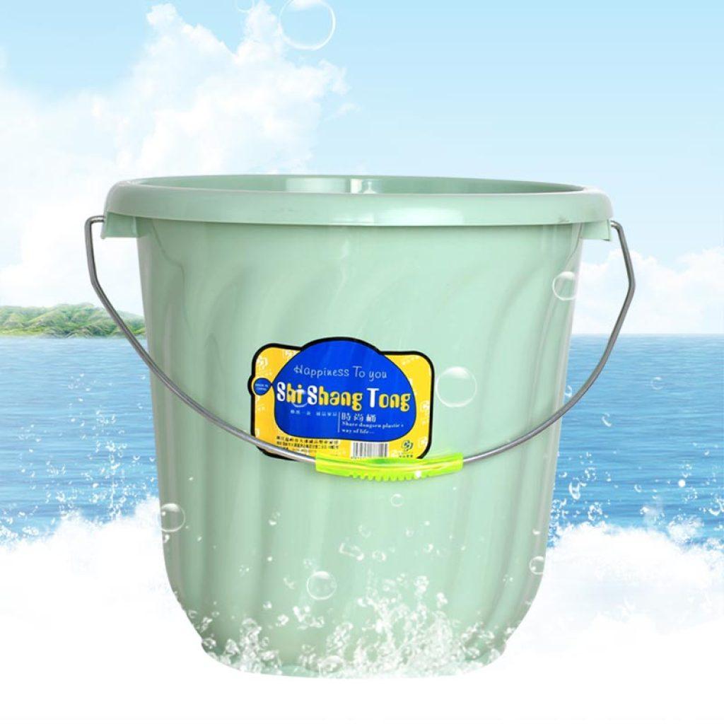 加厚耐摔塑料桶户外手提大水桶洗澡洗衣泡脚洗车桶
