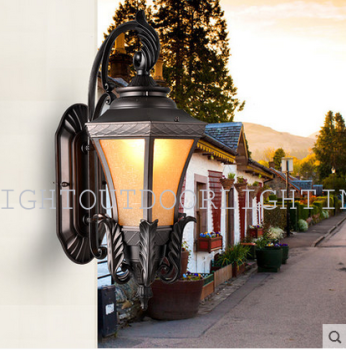 European outdoor wall lamp outdoor patio balcon puerta imitación ...