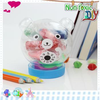 电话熊diy创意3d彩泥橡皮泥