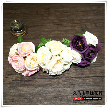 Artificial flowers suit European living room table decoration decoration floral flower Home Furnishing