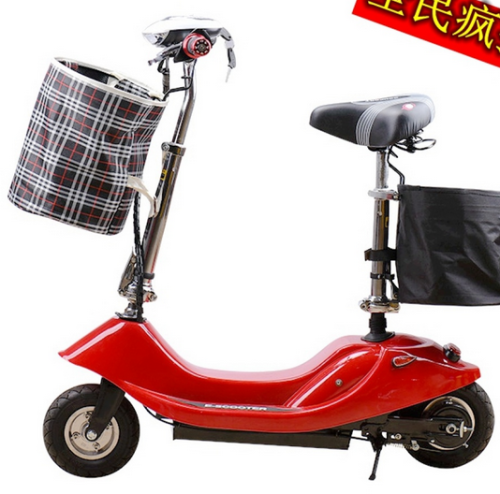 Mini electric dolphin electric scooter bike small battery generation