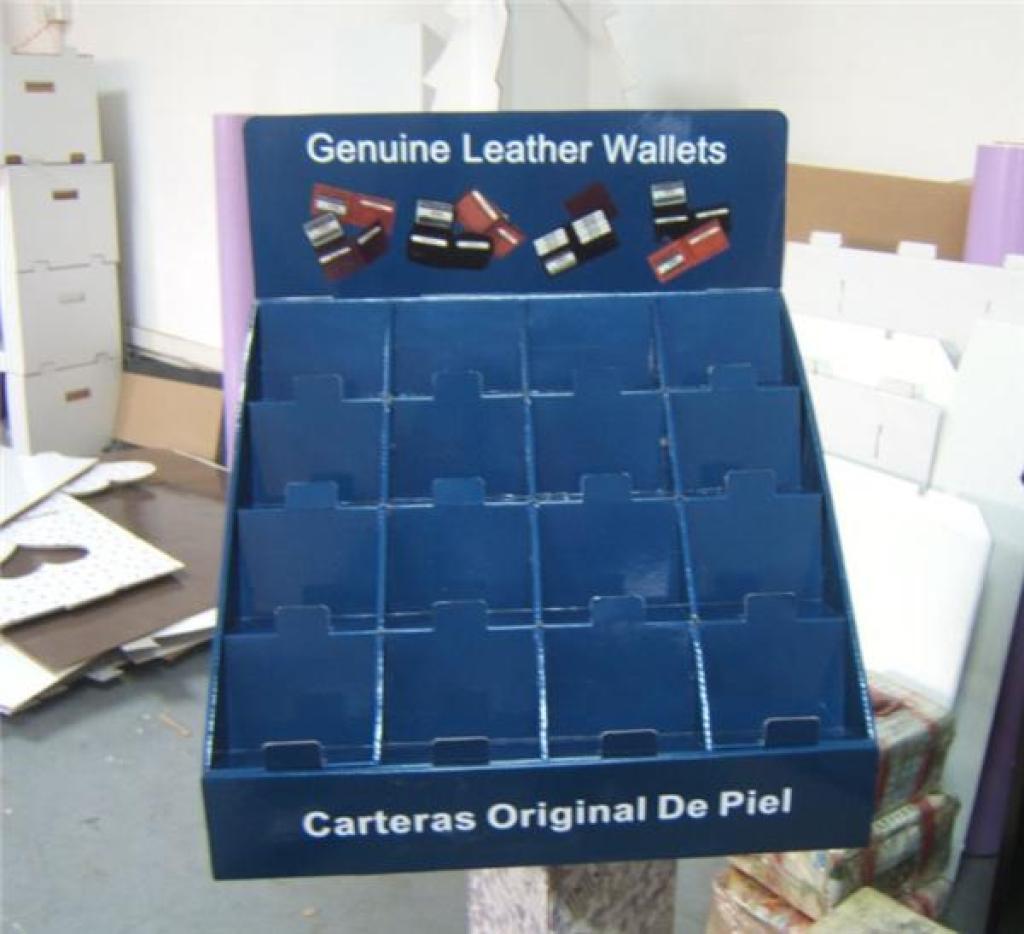 围巾 内衣 袜子产品广告宣传纸柜 卖场纸陈列架 纸展柜 纸质家具是