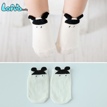 Korean manufacturers wholesale baby socks Mickey Elf
