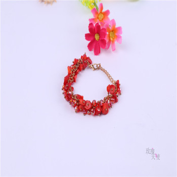 Speed sell through the explosion of a natural stone full - hand chain of luxury crystal Chain Bracelet