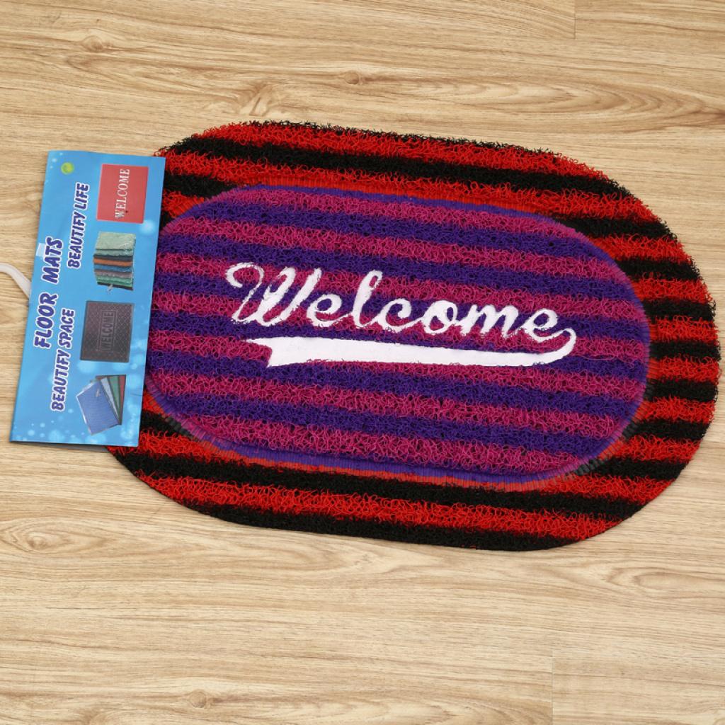 pvc编织纹地毯多图案创意地板