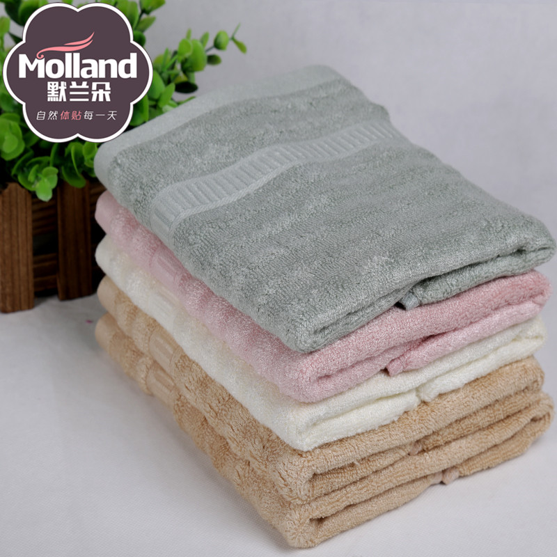 бамбуковые волокна шерсти, жаккардовые шелк равнине полотенца полотенца волны