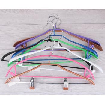 Dip slip hanger dipping hanger for drying clothes prop