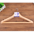 Women's clothing store, solid wood clothes racks, two level solid wood hangers