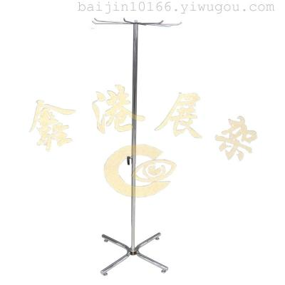 Single frame sun landing jewelry rack umbrella rack belt rack rotating display