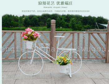鹏飞铁艺,飞艺坊,自行车花篮,自行车摆件,婚礼道具